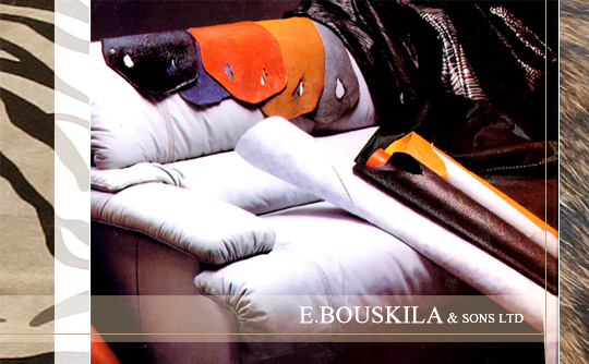 Bouskila Eliezer and Sons Ltd. – leathers and shoe materials importers